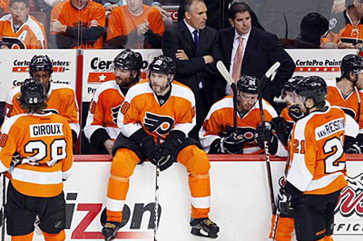 Laviolette hopes a day off will help Flyers refocus