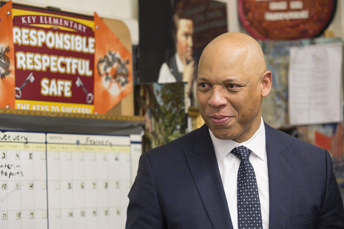 Philadelphia Schools Superintendent William Hite says that addressing Philly's aging school buildings require an all-hands-on-deck approach.