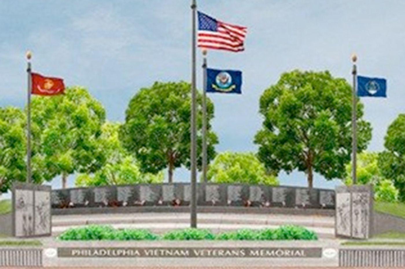 City's Vietnam memorial opens up