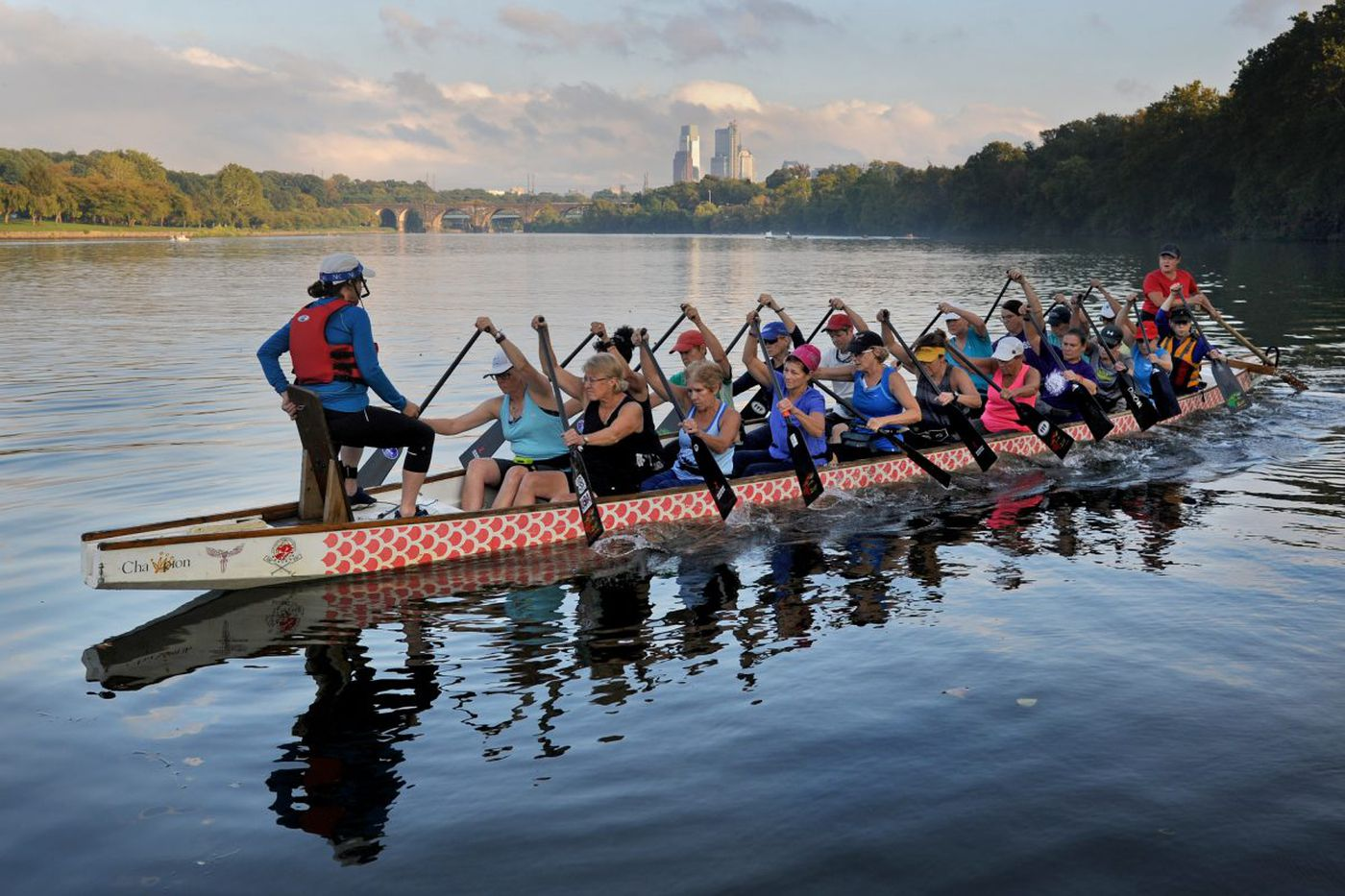 If it seems every American is doing dragon boating, you may be right. But it all started in Philadelphia