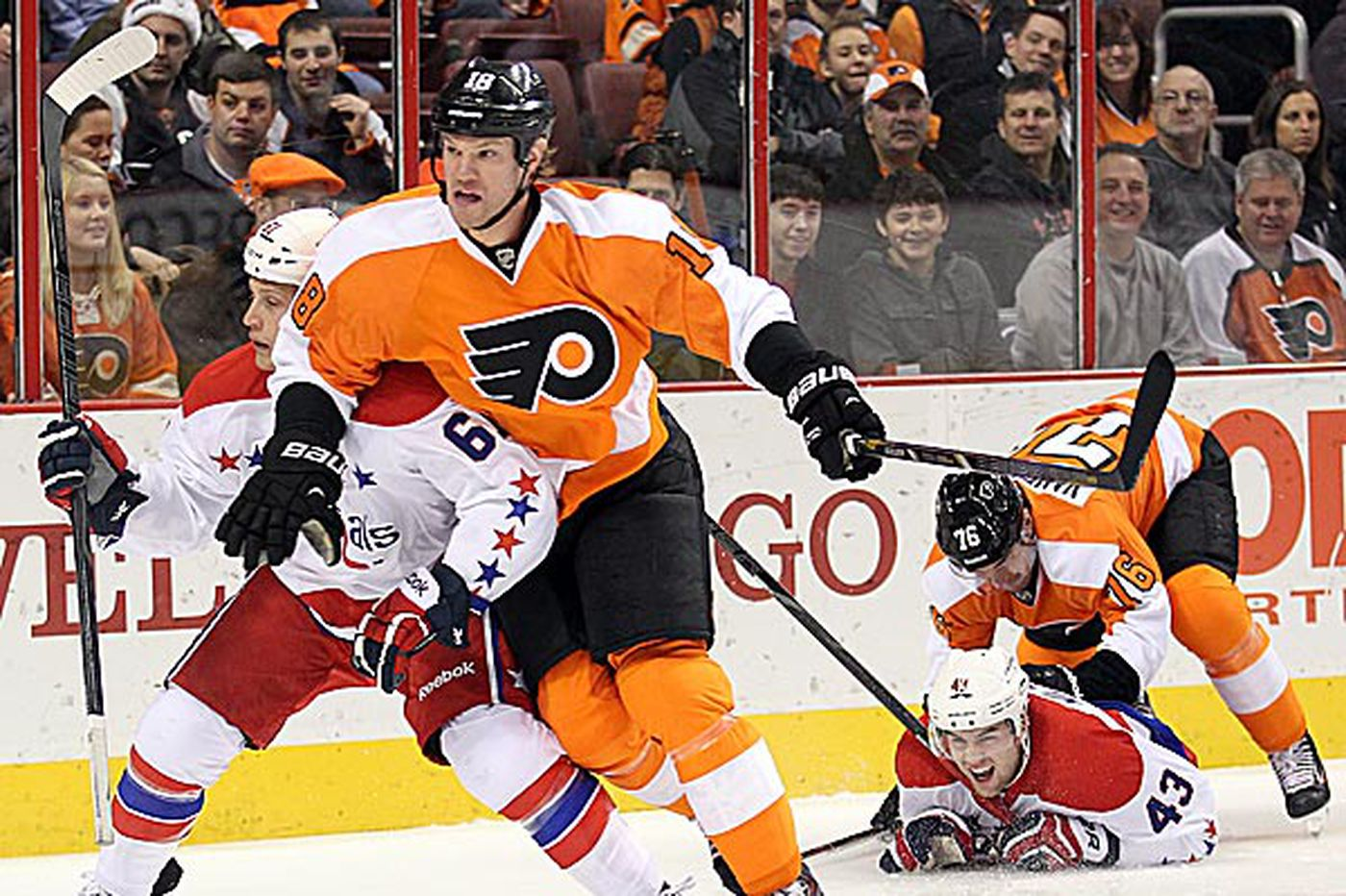 A statement game for the Flyers