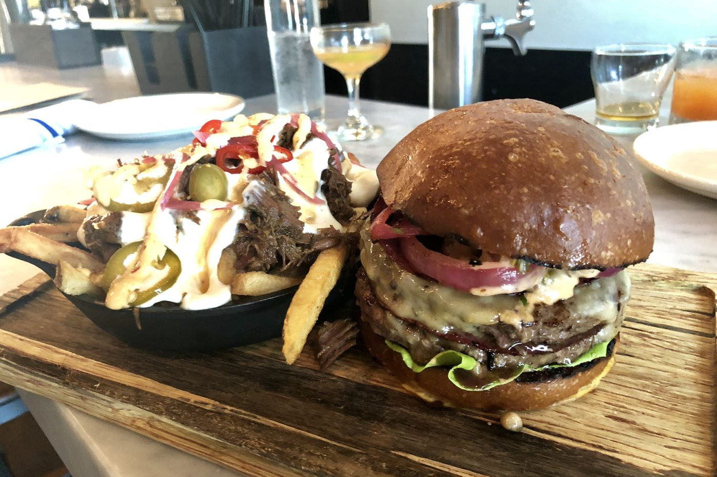 At Ardmore's Ripplewood, a double-patty burger dream | Craig LaBan