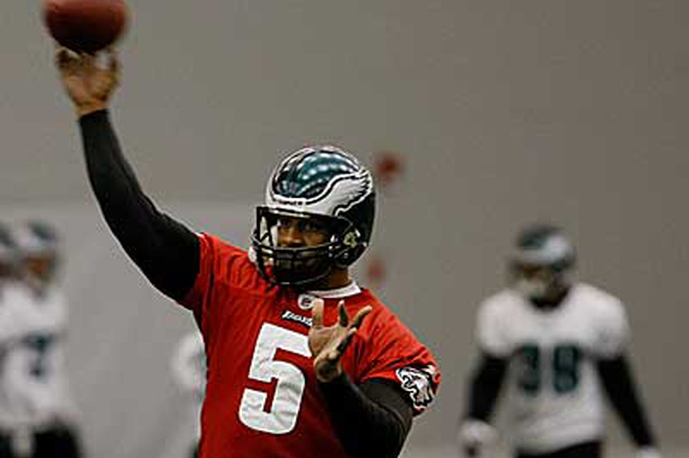 Eagles' McNabb has thrived under pressure in past