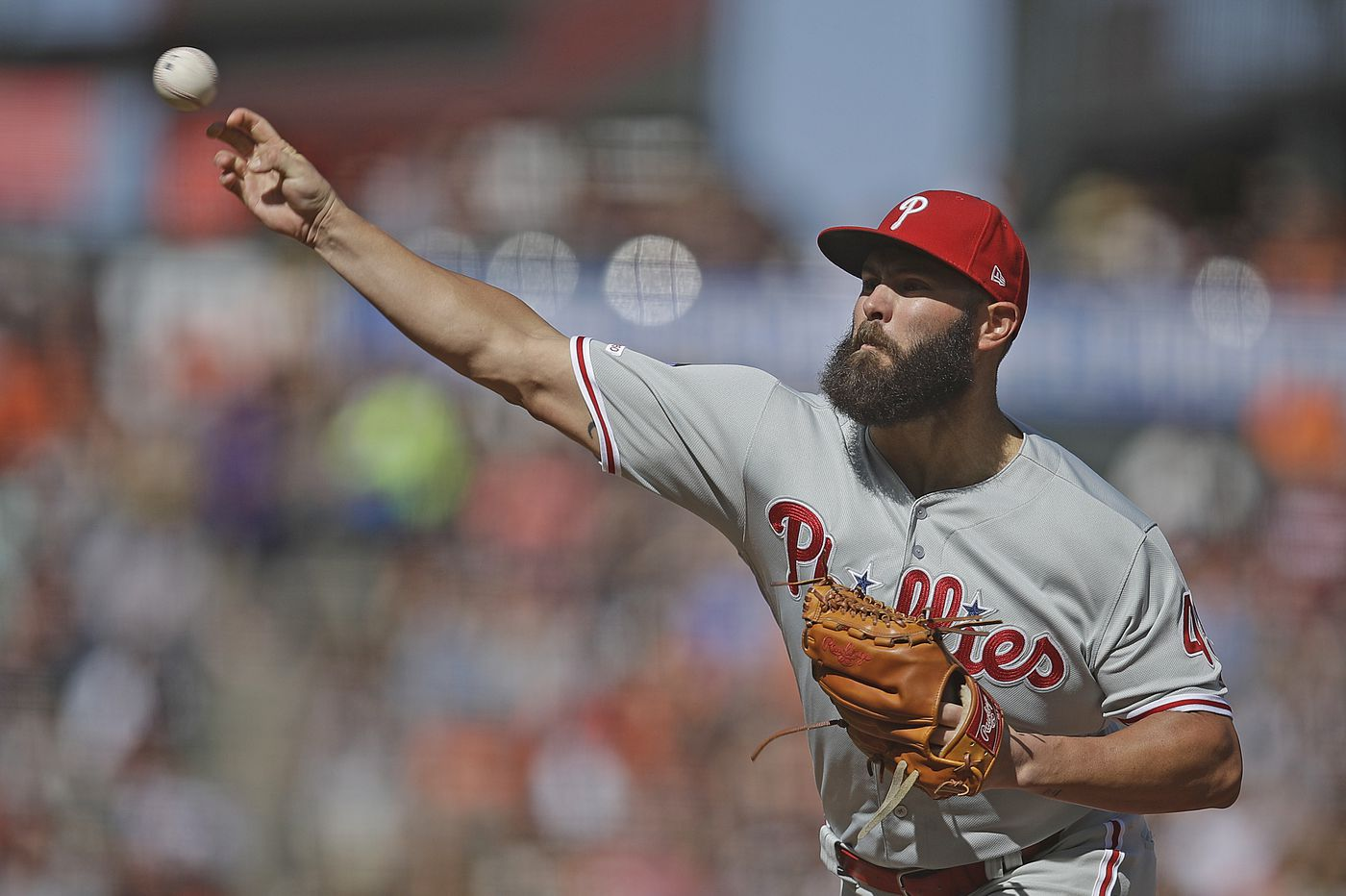 Phillies' Jake Arrieta might 'have a conversation' about surgery to remove painful bone spur