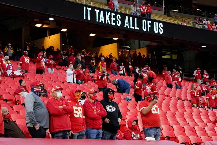 Arrowhead Stadium was one of two places that hosted fans in Week 1.