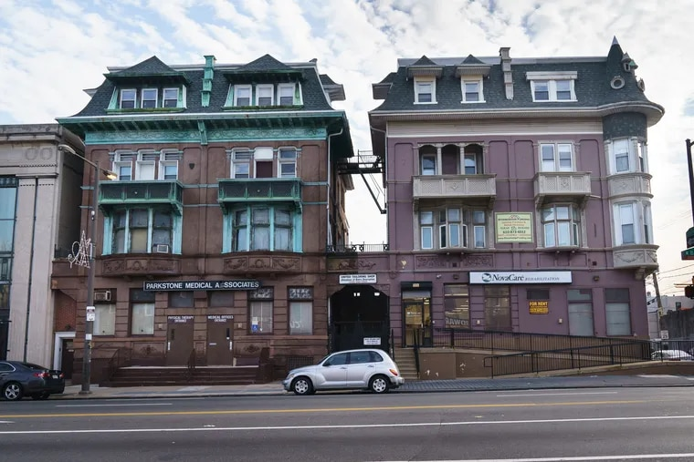 These late 19th century brownstones on North Broad Street were once home some of Philadelphia's most famous retail titans, including Jules Mastbaum and Joseph N. Snellenburg.