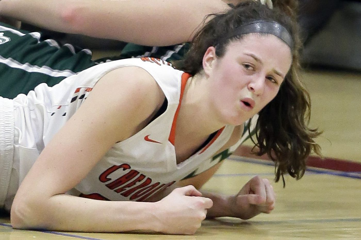 Ava Therien is the Cherokee girls' basketball leader now