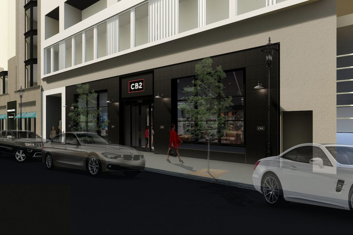 Walnut Gets Another High End Furniture Maker Cb2 Opens Feb 2 Near