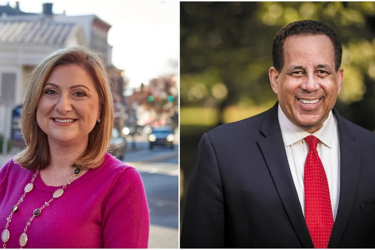 Bucks County Democrats Antonetta Stancu and Mark Lomax are running for district attorney and sheriff, respectively.