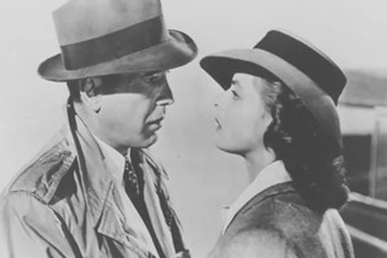 """""""Casablanca"""" : WHYY TV12 will play it again, with the legendary Bogey and Ingrid Bergman."""