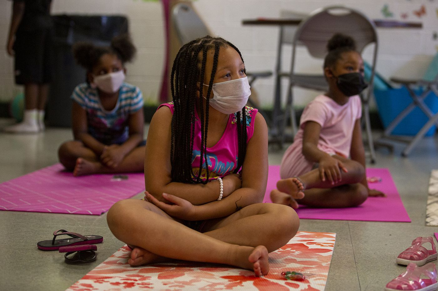 In a coronavirus summer, many kids' camps shutter, others open — with masks, gallons of sanitizer, and no tag