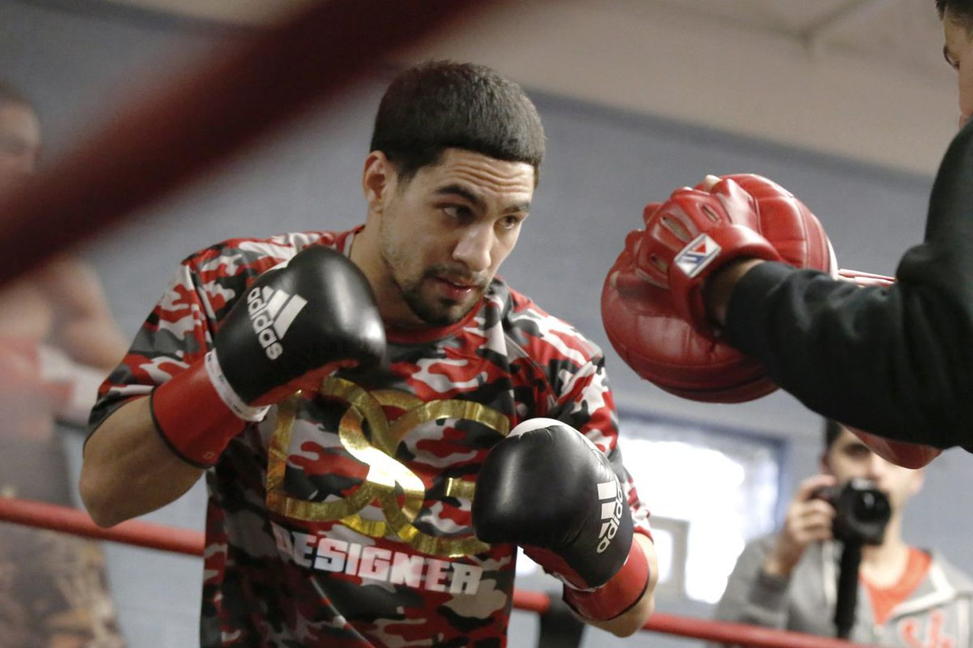 North Philadelphia boxer Danny Garcia takes the ring Saturday against Brandon Rios