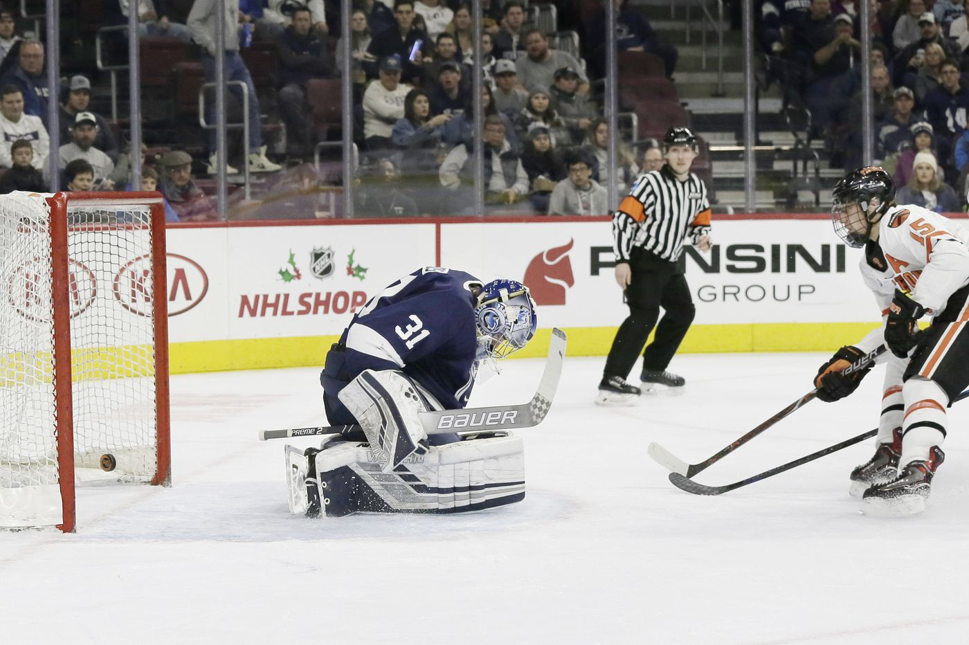 Penn State hockey collapses for a 4-4 tie with Princeton