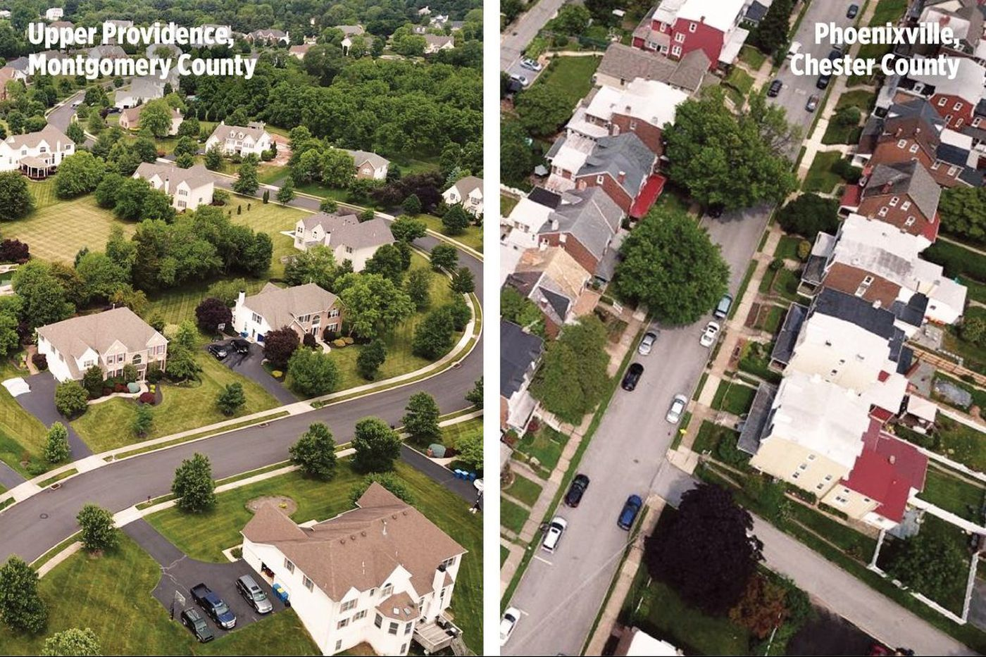 Census data show Chester County's hot, South Jersey's not. Here's how towns are changing