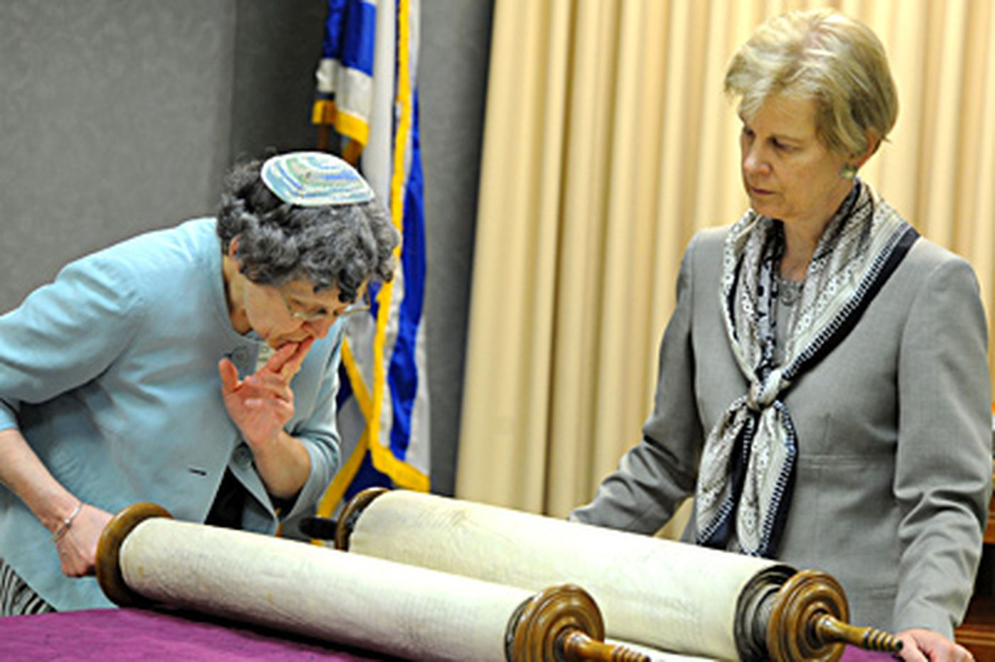 Rescued Torah survives in Delaware County, a Holocaust remembrance