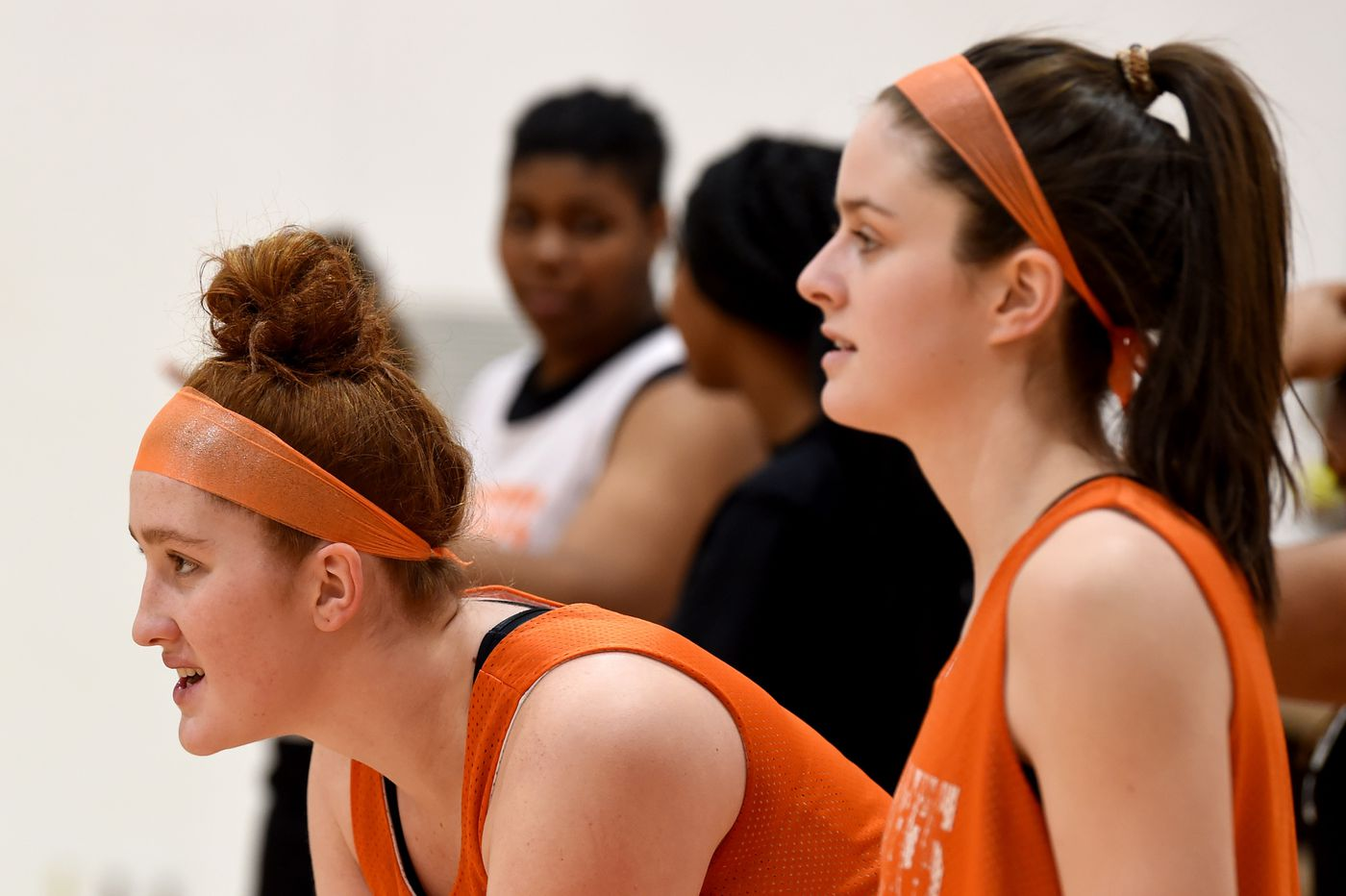 Therien sisters, Ava and Alexa, play it cool for Cherokee's basketball powerhouse