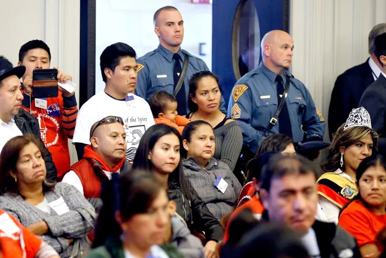 During a NJ Assembly committee meeting in November, a crowd at the statehouse in Trenton heard testimony about a bill to allow residents who cannot prove they are in the United States legally to obtain a New Jersey driver's license. The measure was approved by both houses of the legislature earlier this week and Gov. Phil Murphy signed it into law Thursday.