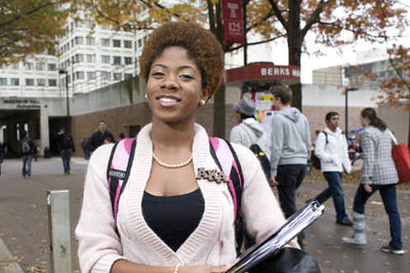 Temple University is raising its standards