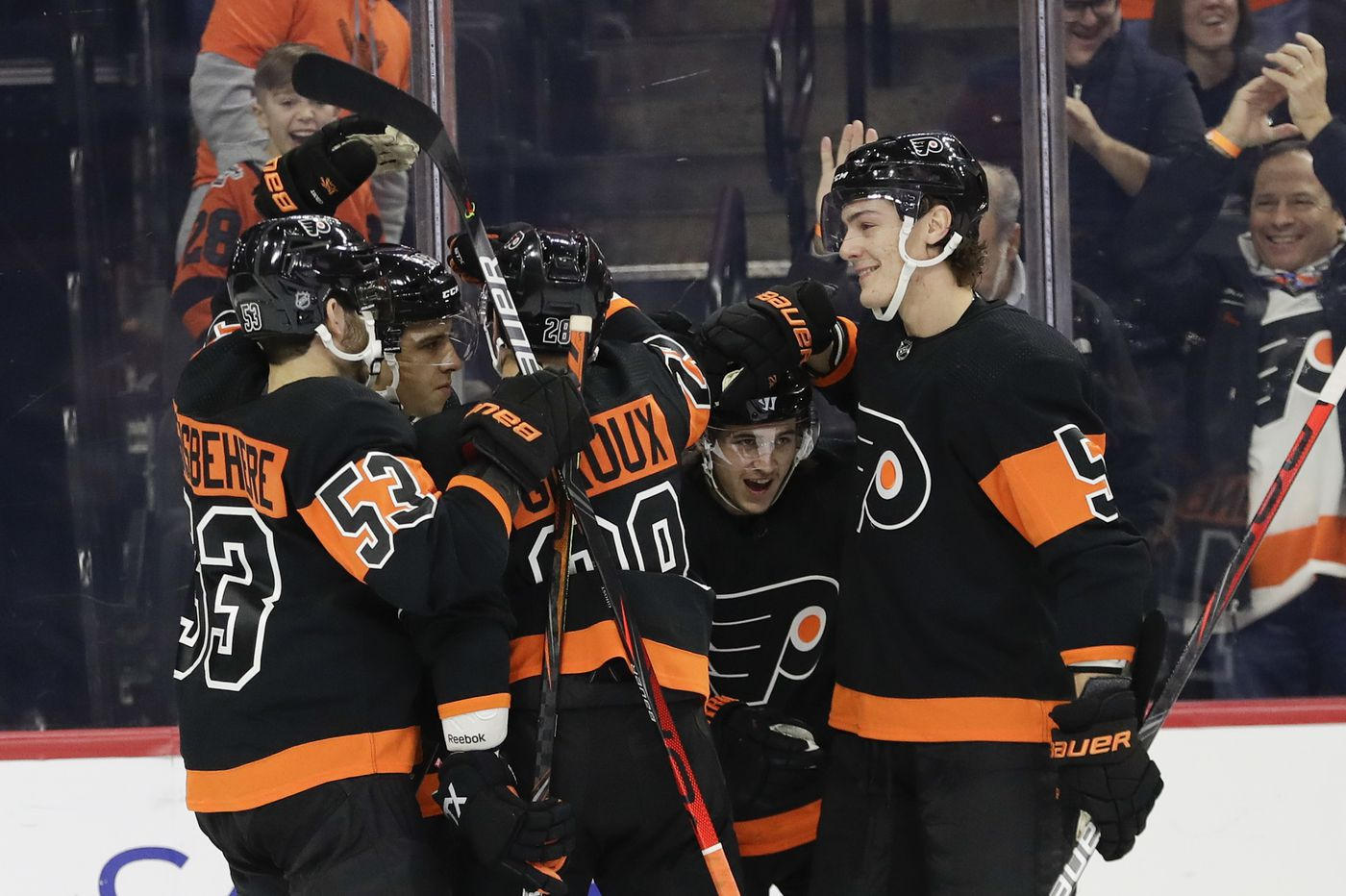 Fighting, power play woes, and other observations from the Flyers' 4-3 win over Senators