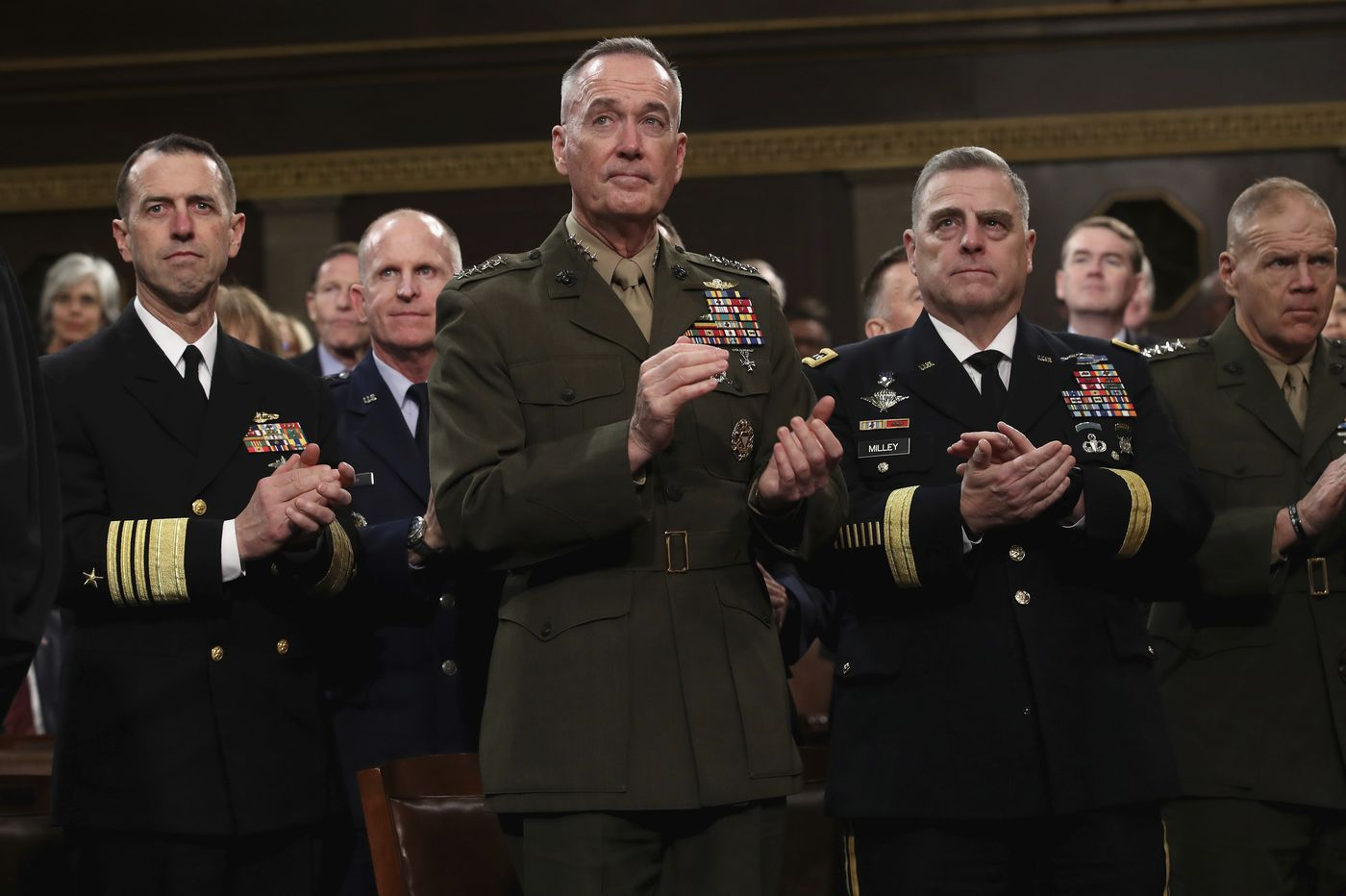 Marines cut training to fund hurricane costs, border mission