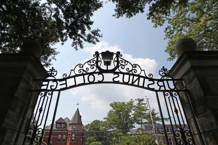 Ursinus College entranceway off of Main Street in Collegeville, shown in 2013.