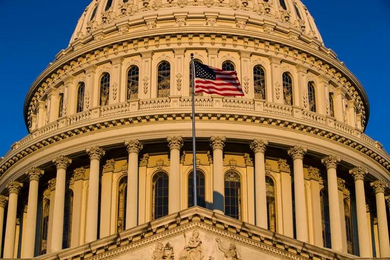 The U.S Capitol.