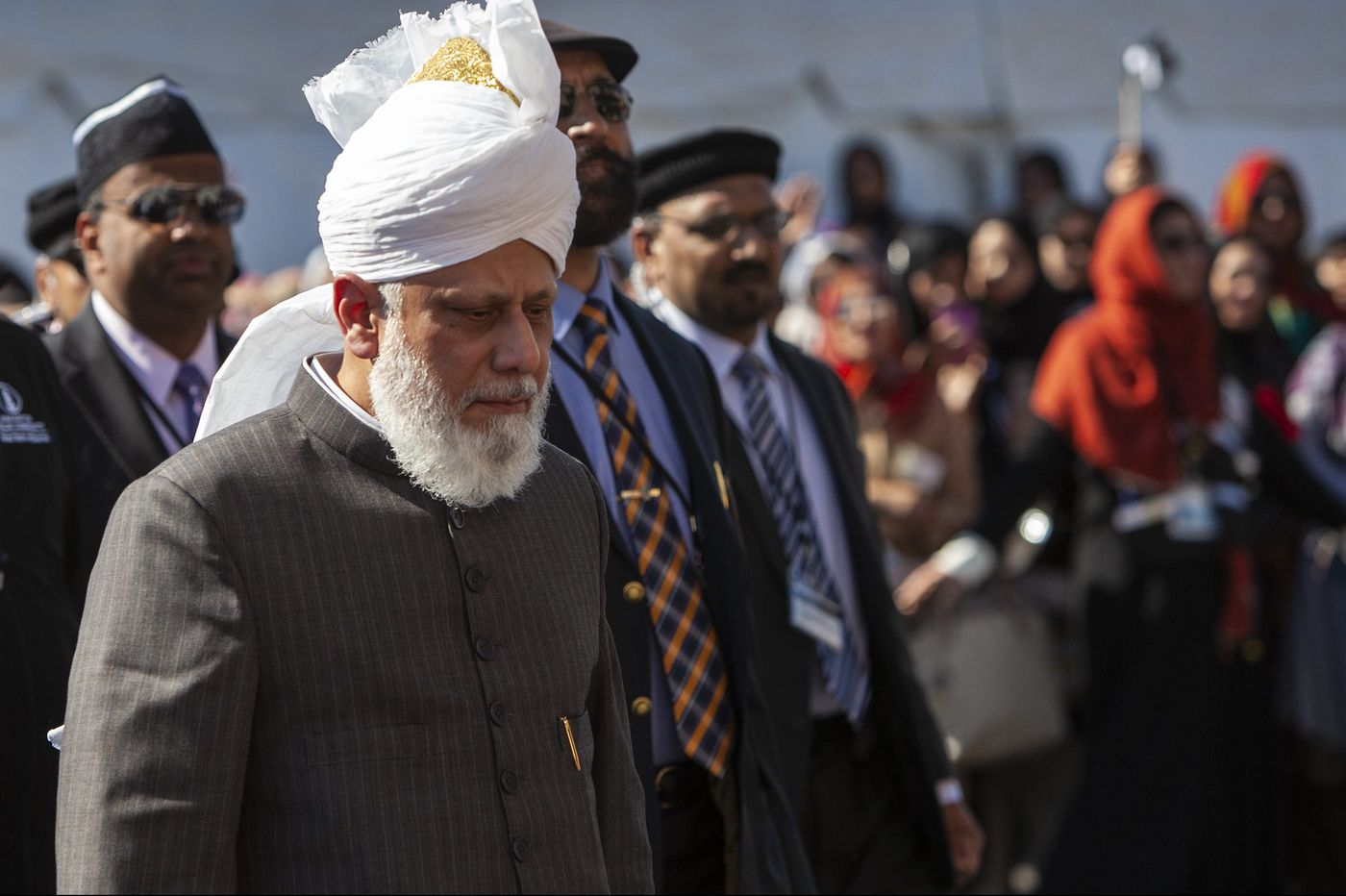 The Ahmadiyya Muslim Community's 'pope' visits to dedicate a mosque in North Philadelphia