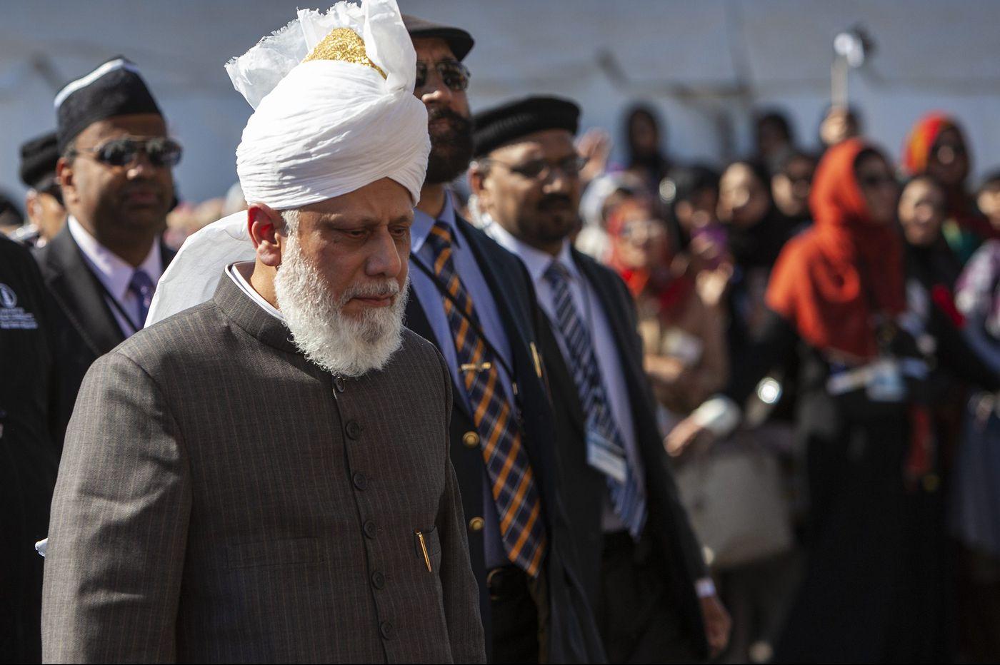 The Ahmadiyya Muslim Community's 'pope' visits to dedicate a mosque in North Philadelphia
