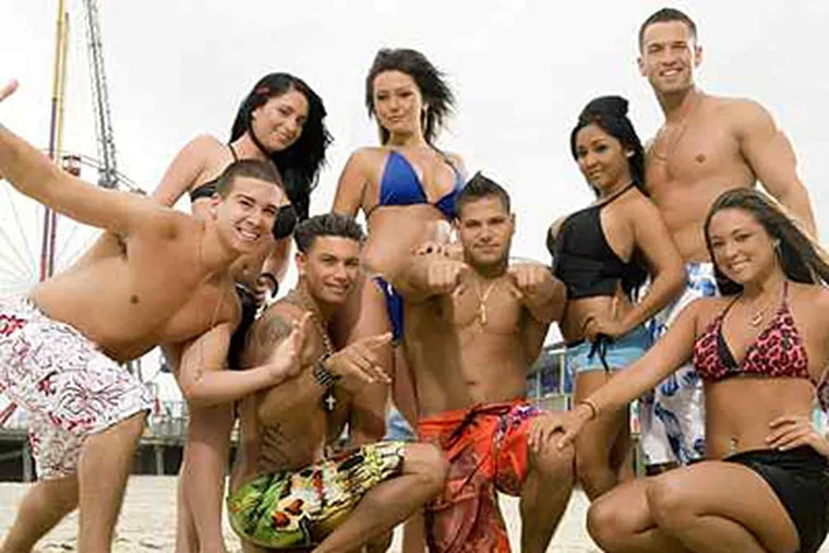 """The cast of MTV's """"Jersey Shore"""" should be every concerned parent's worst nightmare."""