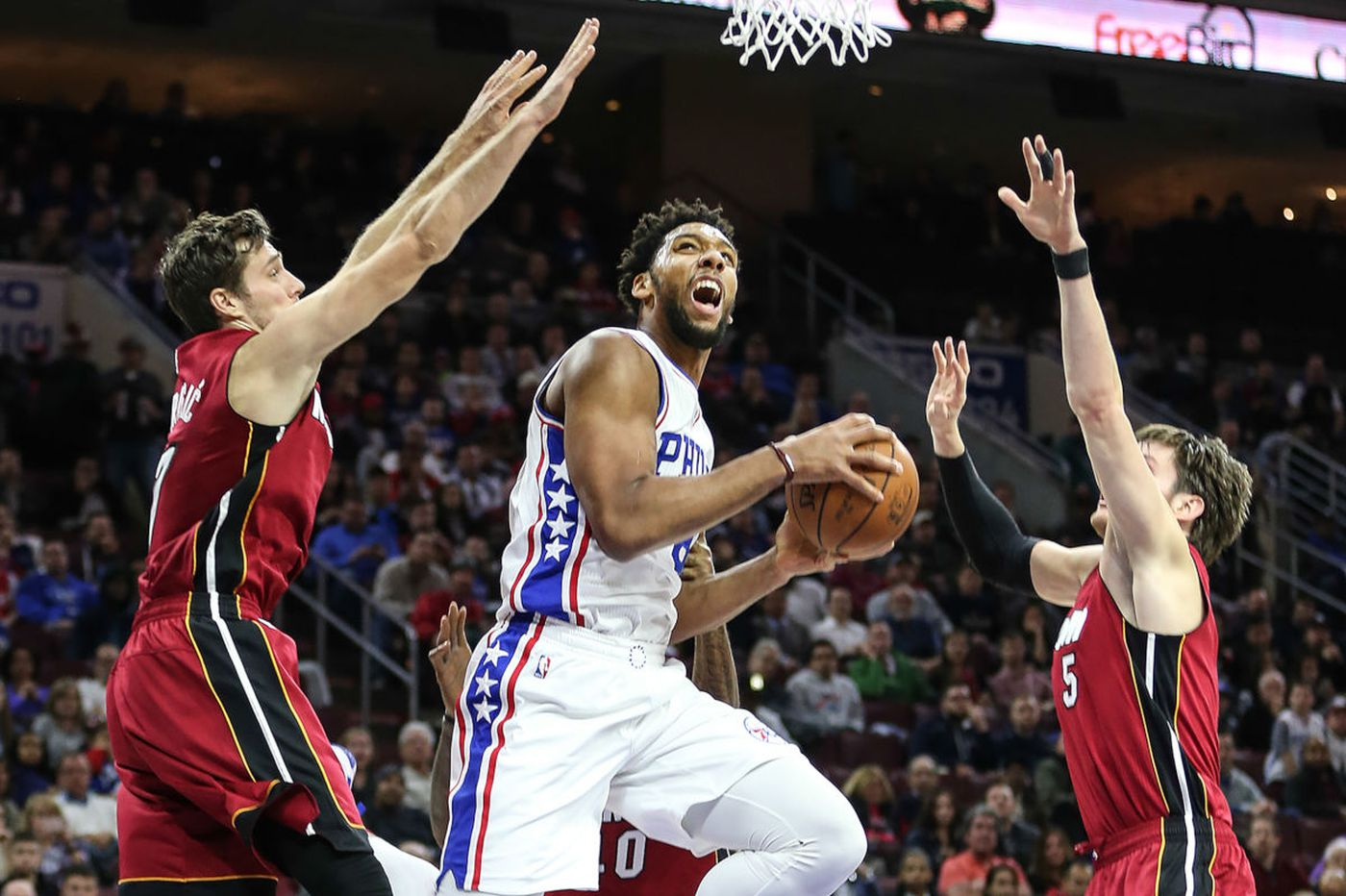 Sixers beat Heat for second straight win