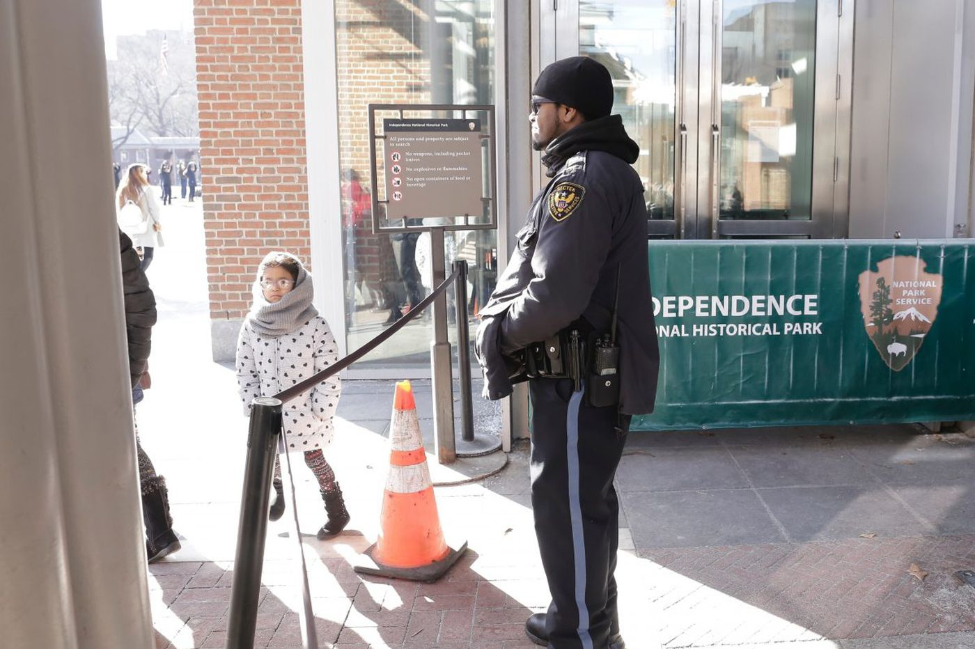 Tourists' plans foiled by the federal shutdown