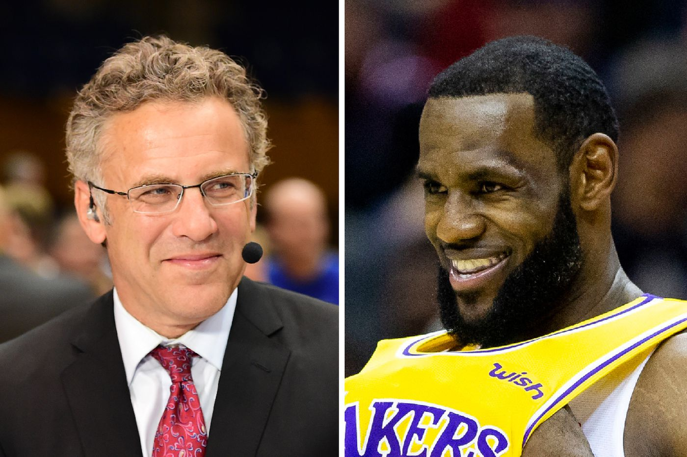 9dc357f993c ESPN airs fake LeBron James Instagram post following Lakers-Sixers game