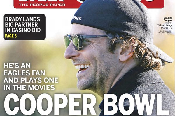 Bradley Cooper is a longtime Eagles fan thanks to his late father