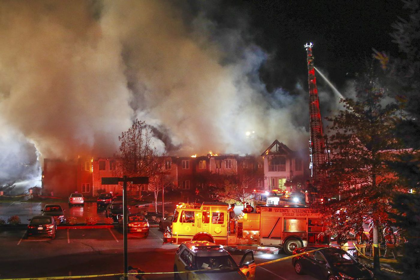 On fatal fire tapes: 'no water pressure at all'