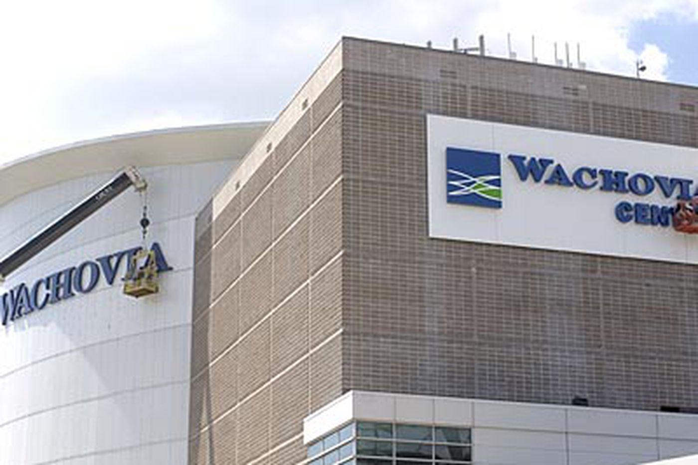 Wachovia Center renamed as Wells Fargo Center