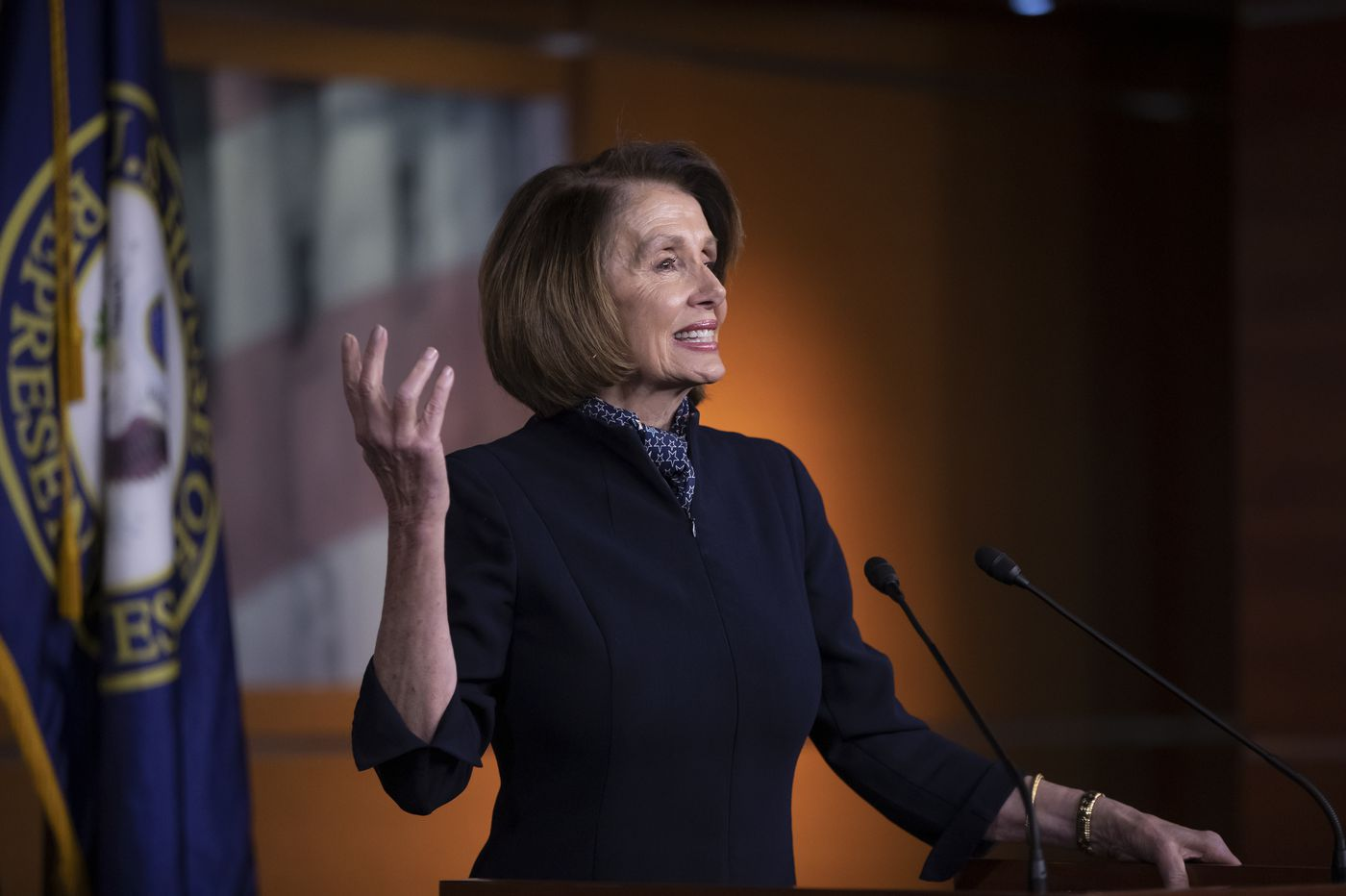 Pelosi flashes survival skills - and she'll need them in '19