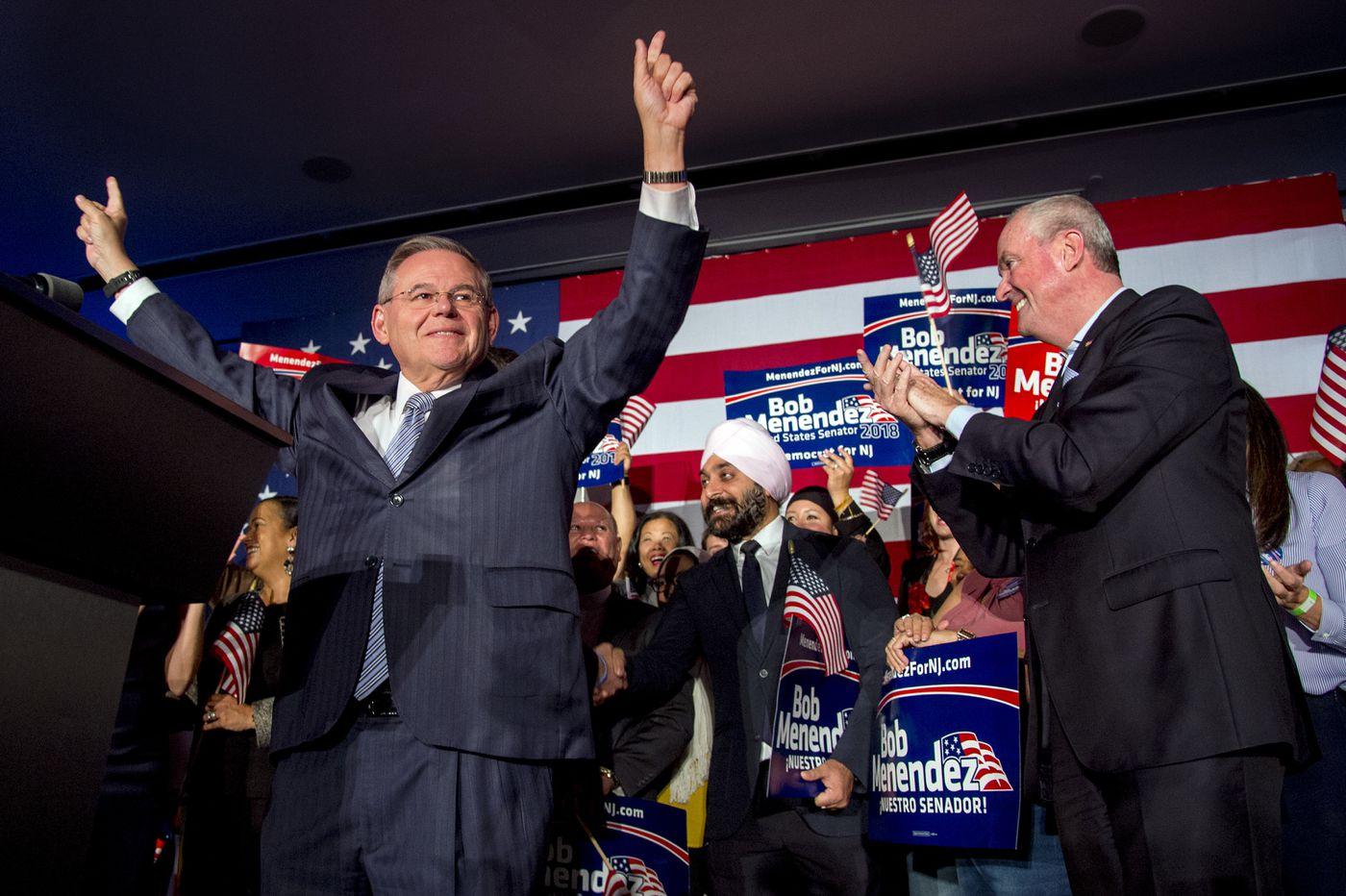 Bob Menendez, Bob Casey win Senate races in N.J., Pa.