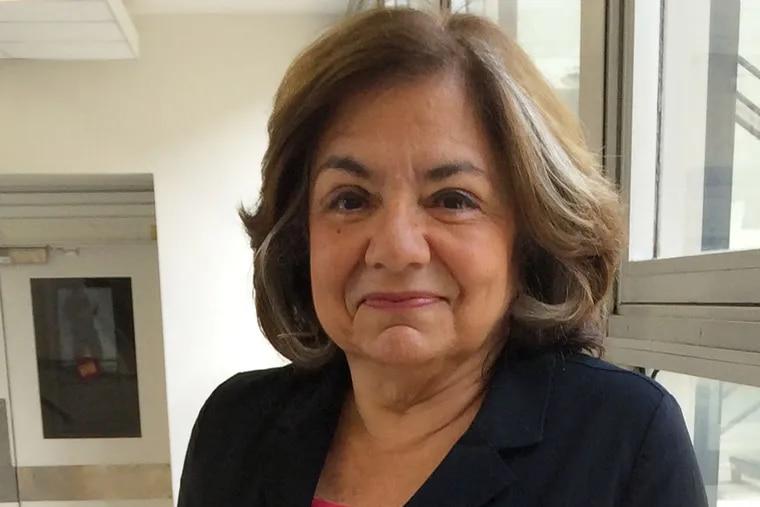 Breast cancer advocate Fran Visco on October 9, 2014.