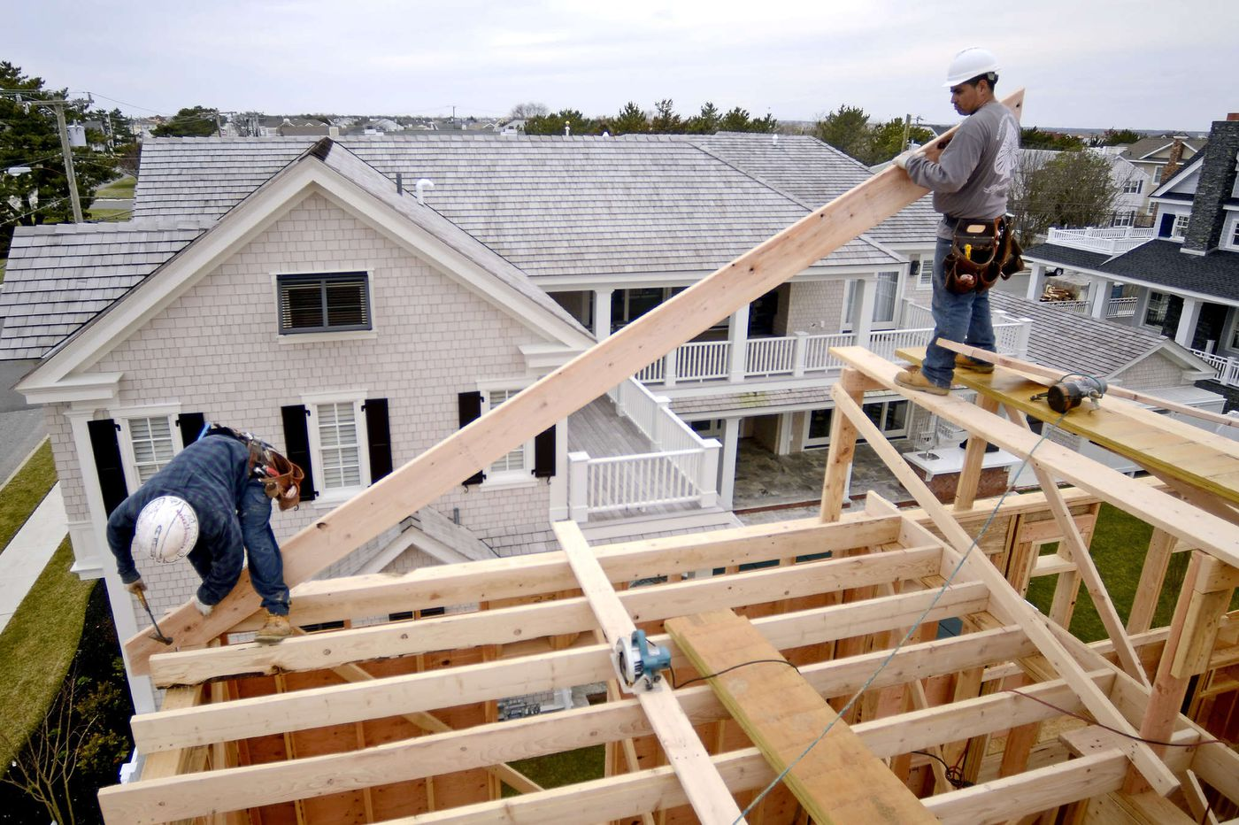 What's driving that surge in new-home construction?