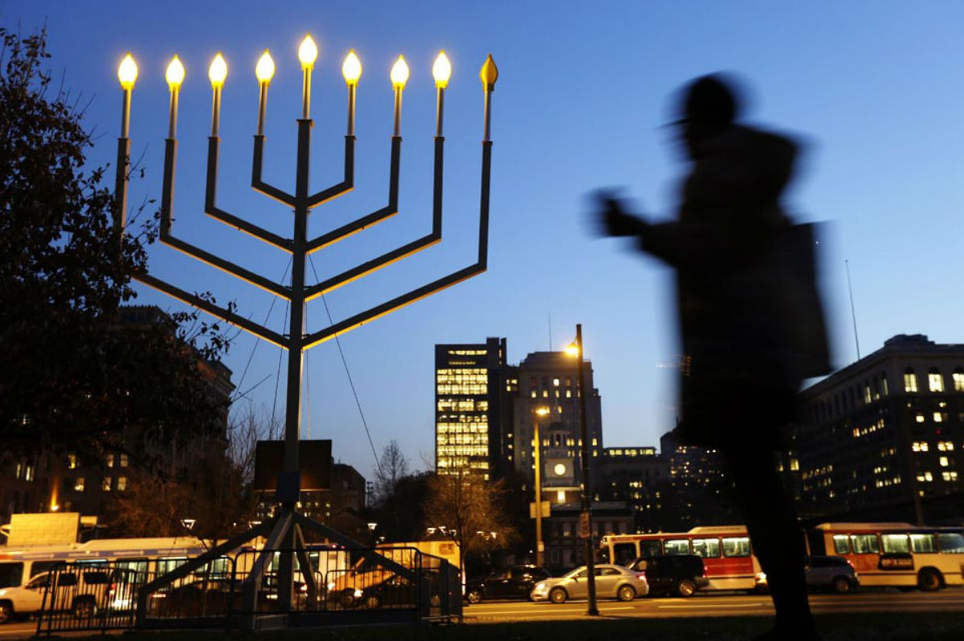 Commentary: On the first night of Hanukkah ...