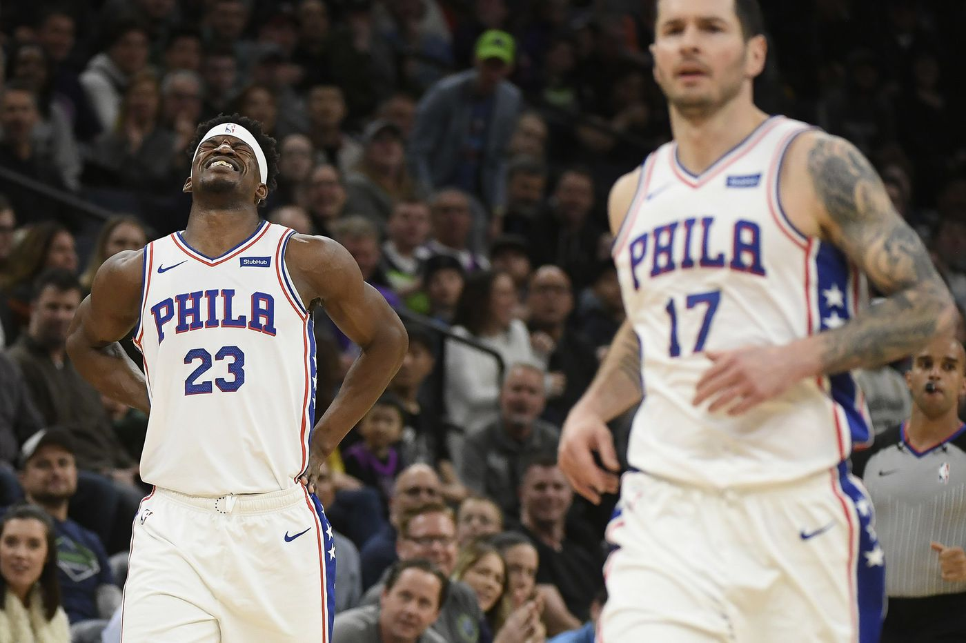 Joel Embiid Whips Ball At Eric Bledsoe Who Is Then Promptly Ejected