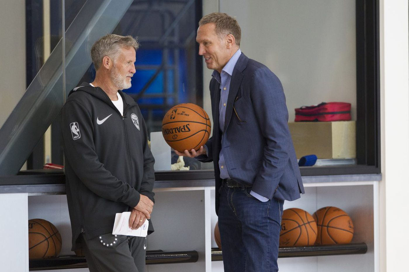Sixers' inconsistent play is holding them back, and Bryan Colangelo knows it