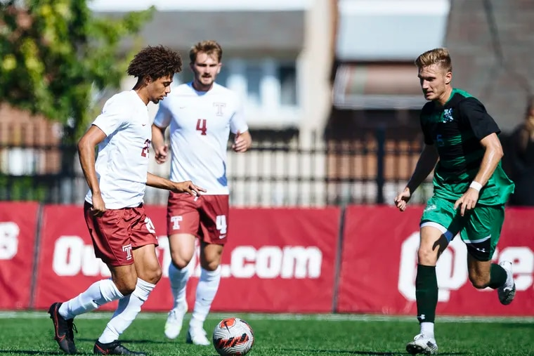 Temple men's soccer postponed their game against No. 1 Georgetown because of COVID-19 protocol issues.