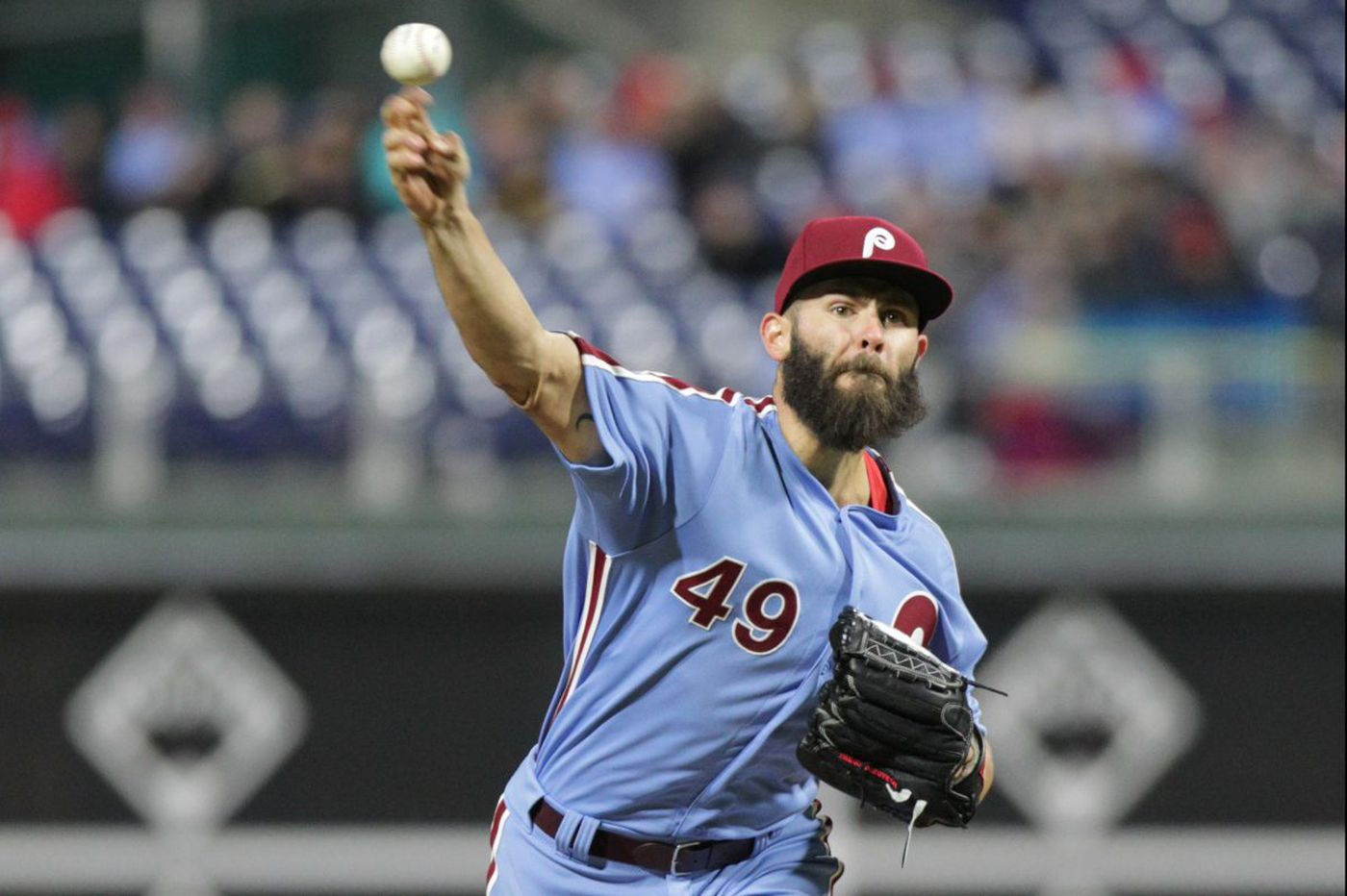 Jake Arrieta drawing inspiration from young Phillies starters