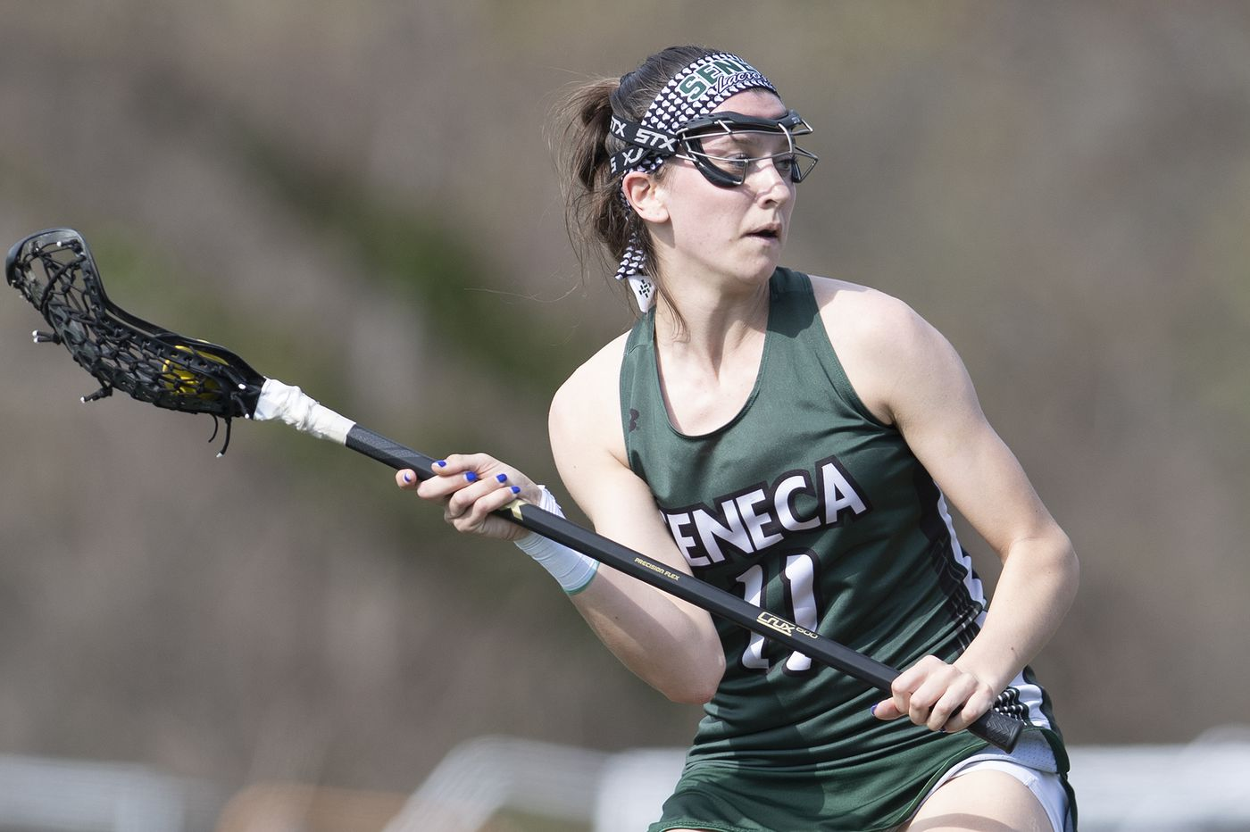 Cassidy Spilis scores goals - and does a whole lot more - for Seneca girls' lacrosse