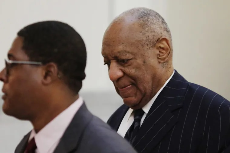 Actor and comedian Bill Cosby arrives for the third day of the retrial of his sexual assault case at the Montgomery County Courthouse in Norristown, Pennsylvania on April 11, 2018. POOL PHOTO – Dominick Reuter/AFP