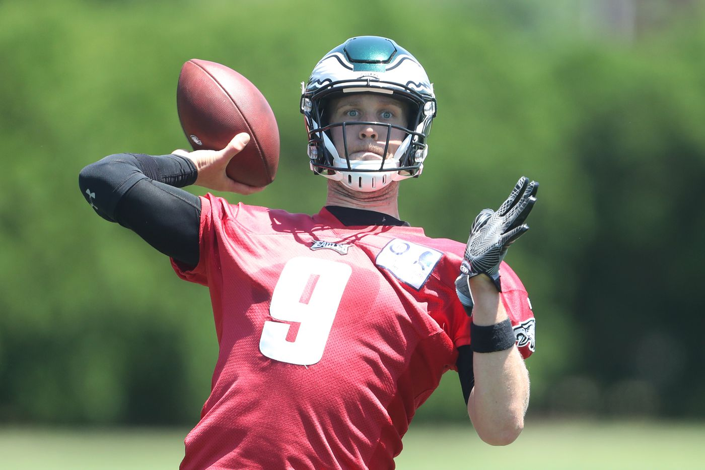 Eagles training camp s biggest story  Transition from Nick Foles ... 00efda1b2