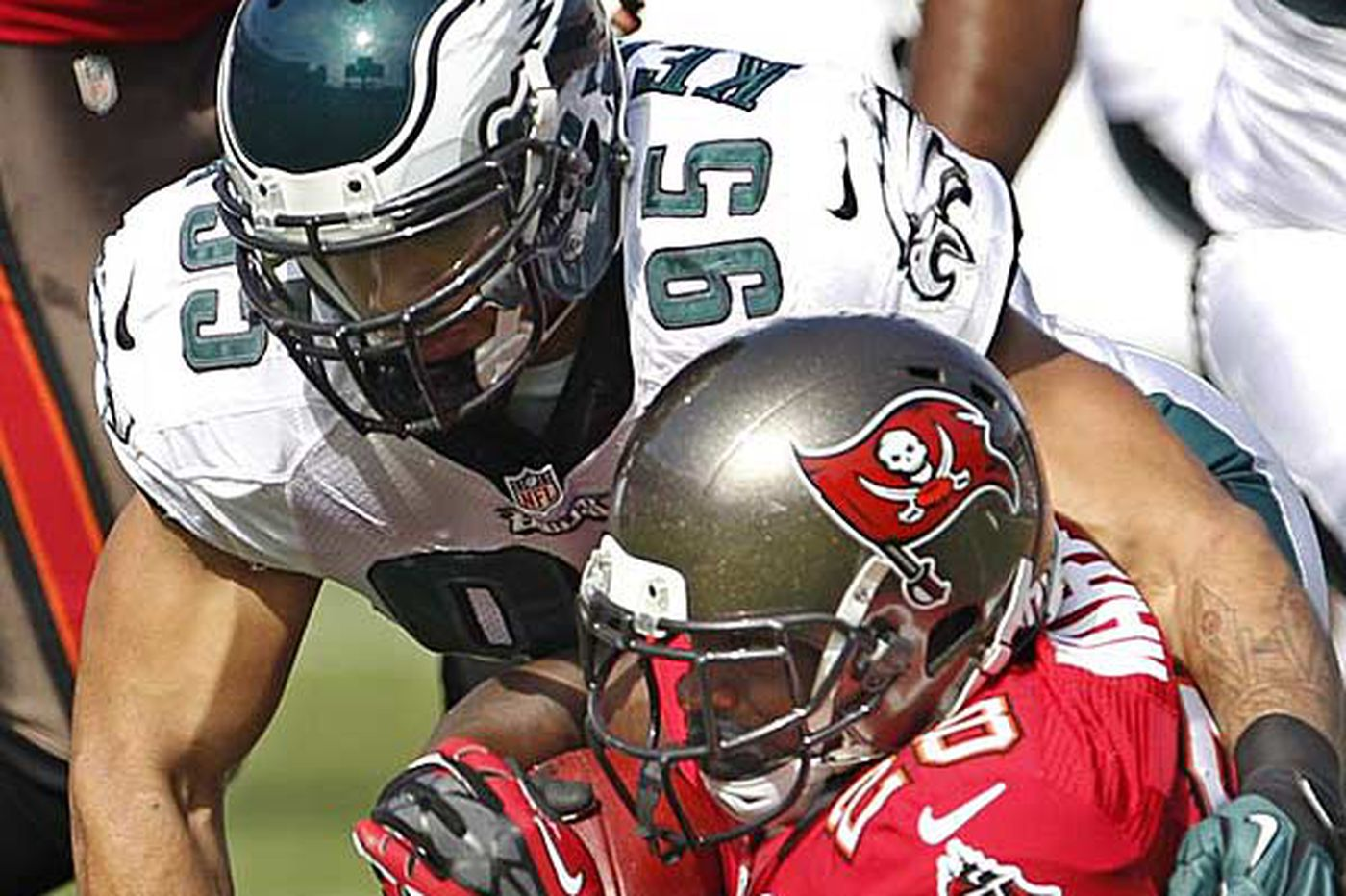 Eagles Notebook: Change for the better for Eagles defense