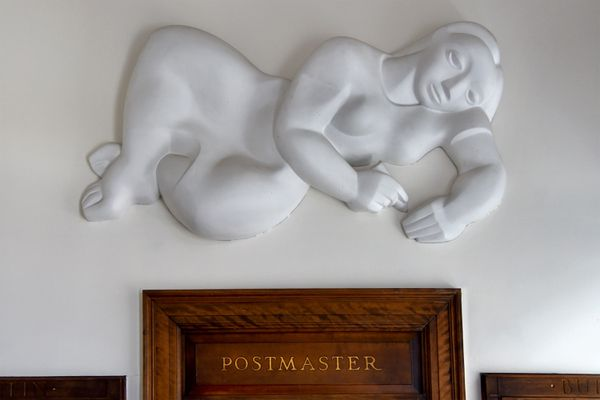 At the Haddon Heights Post Office, the work of a renowned sculptor has been hiding in plain sight | Kevin Riordan