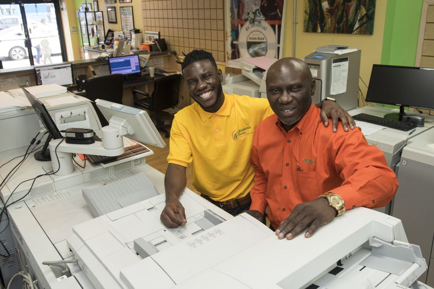 Want to groom a successor? This Philly print-shop entrepreneur found one in the family